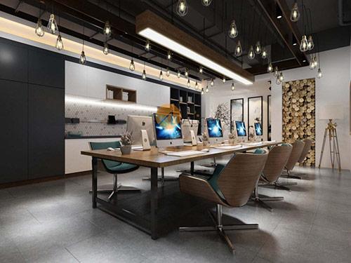 Thiết kế văn phòng 100m2 xanh thể hiện sự chuyên nghiệp, đẳng cấp