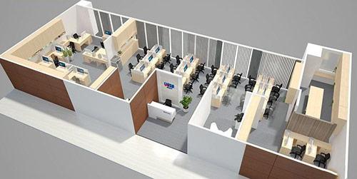 Những lợi ích khi thiết kế văn phòng 100m2 xanh