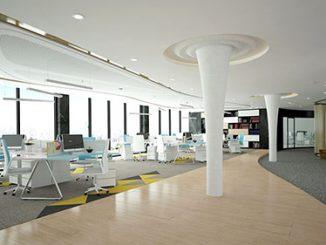 Dịch vụ thiết kế nội thất văn phòng làm việc trọn gói, giá rẻ tại Hà Nội