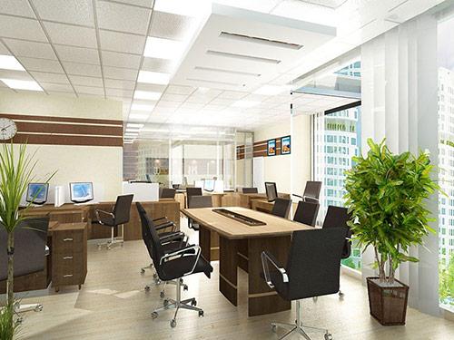 Thiết kế văn phòng làm việc hiện đại với nội thất phù hợp