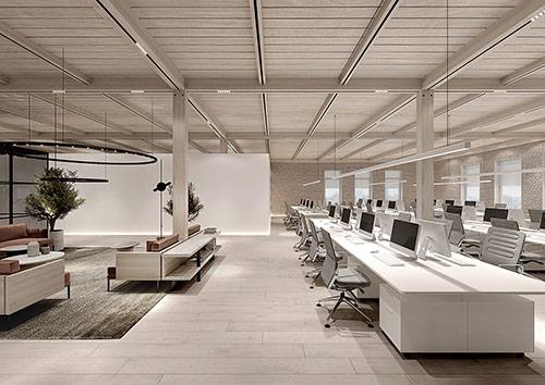 dịch vụ thiết kế nội thất văn phòng làm việc