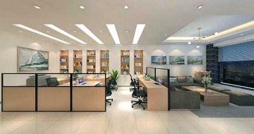 Công ty thiết kế nội thất văn phòng làm việc trọn gói uy tín tại Hà Nội