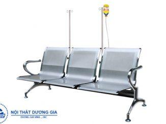 Những ưu nhược điểm của ghế băng chờ bệnh viện bằng nhựa và inox