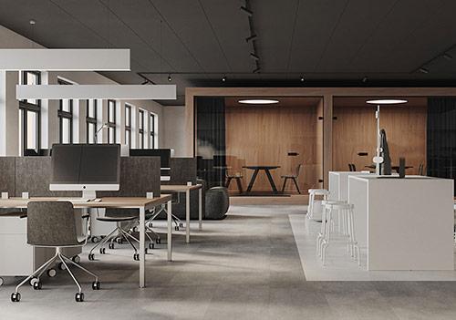 Công ty thiết kế nội thất văn phòng hiện đại uy tín tại Hà Nội