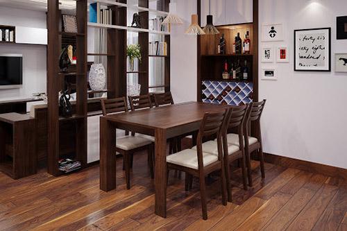Địa chỉ cung cấp nội thất phòng ăn bằng gỗ đẹp, giá tại xưởng