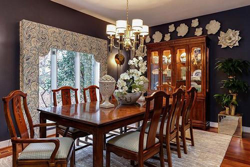 Thiết kế nội thất phòng ăn cổ điển giá rẻ