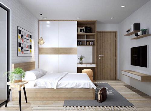 Chọn nội thất phòng ngủ hiện đại cho chị em như thế nào?