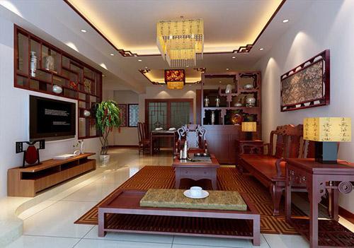 Bố trí nội thất phòng khách bằng gỗ đẹp
