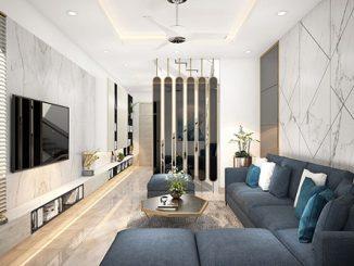 Hướng dẫn cách lựa chọn đồ nội thất phòng khách cho nhà ống