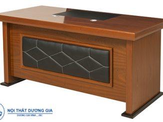 TOP 5 mẫu bàn Giám đốc nhỏ đẹp, thiết kế hiện đại