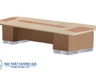 Tư vấn cách lựa chọn bàn gỗ phòng họp phù hợp với doanh nghiệp