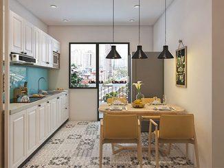 Làm thế nào để thiết kế nội thất phòng ăn chung cư đẹp, ấn tượng?