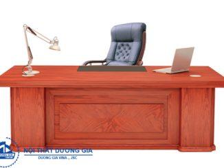 TOP 7 mẫu bàn Giám đốc văn phòng gỗ veneer sang trọng, đẳng cấp