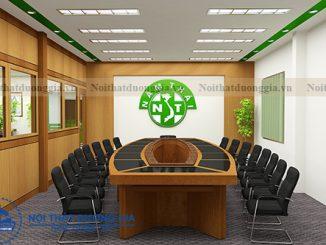 Công ty cung cấp, thi công bàn ghế phòng họp nhỏ uy tín, chất lượng