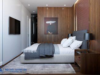 Điểm danh các mẫu nội thất phòng ngủ gỗ công nghiệp đẹp, hiện đại
