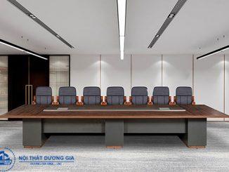 Mua bàn phòng họp dài ở cơ sở uy tín